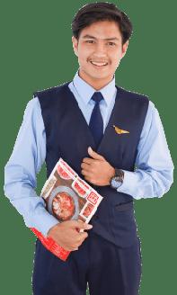 Seragam Pramugara FAAST Penerbangan