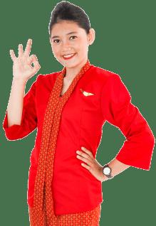 Seragam Pramugari FAAST Penerbangan