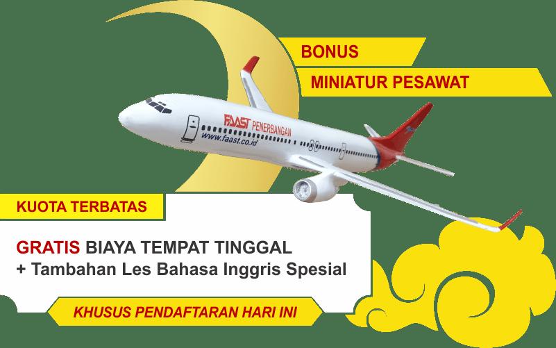 Gratis Miniatur Pesawat FAAST Penerbangan